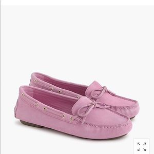 New in box JCrew suede driving shoes